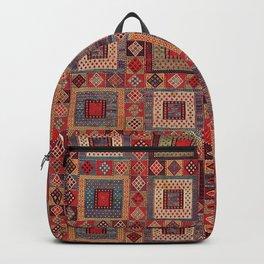 Azeri Zili Karabagh Azerbaijan South Caucasus Flatweave Print Backpack