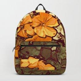 Orange Geranium, Plant of Feminine Healing Backpack