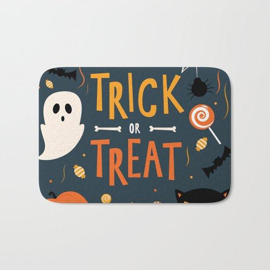 Trick or Treat Bath Mat