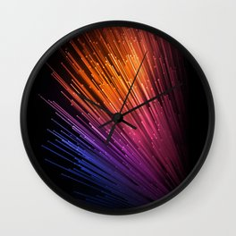 live color xiaomi lines stock background abstraction Wall Clock