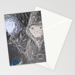 What Am I Doing Here? Stationery Cards