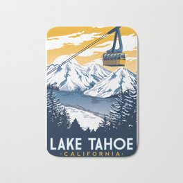 lake tahoe california Bath Mat
