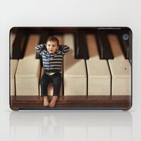 toddler iPad Cases featuring Just wanted to drop you a note! by micklyn