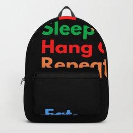 Eat. Sleep. Hang Glide. Repeat. Backpack