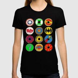 Superhero Donuts T-shirt