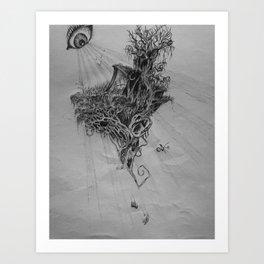 Fantasy House Art Print