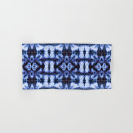 Blue Oxford Shibori Hand & Bath Towel