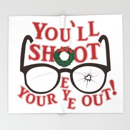 You'll Shoot Your Eye Out! Throw Blanket