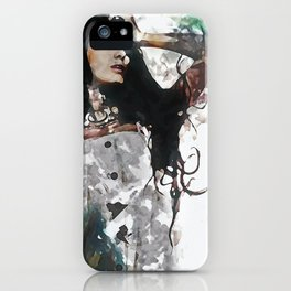 Wonder Abstract Portrait iPhone Case