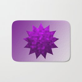 Kwan Yin's Star | Purple Flame | Compassion Bath Mat