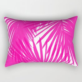 Palms Fuchsia Rectangular Pillow