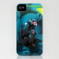 Space Chimp iPhone (4, 4s) Slim Case