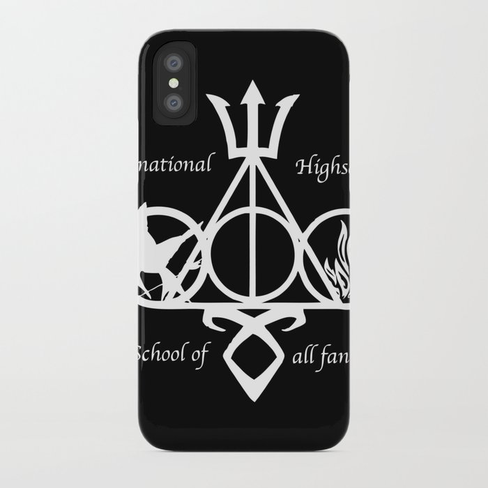 International Highschool of All Fandom iPhone Case