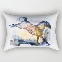 Prancing Horse (New Galaxy) Rectangular Pillow