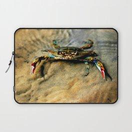 Blue Crab Laptop Sleeve