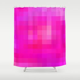 Re-Created Colored Squares No. 6 by Robert S. Lee Shower Curtain