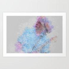 Rick Parfitt Art Print