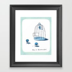 Blueberrdies Framed Art Print
