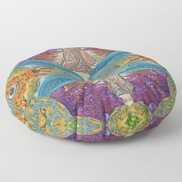 Nature's Matrix Floor Pillow