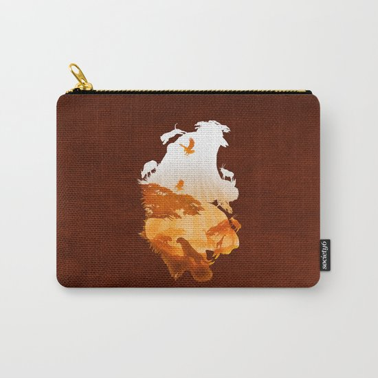 Tigers Realm Carry-All Pouch