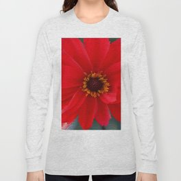 Scarlet Red Long Sleeve T-shirt