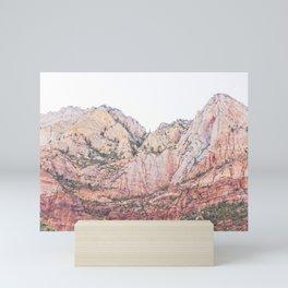 Zion National Park #2 Mini Art Print