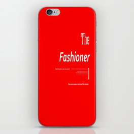 The Fashioner iPhone Skin