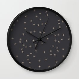 Star Dream Pattern #1 #decor #art #society6 Wall Clock