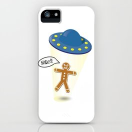 A Christmas Kidnapping iPhone Case