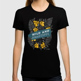 Wild & Beautiful – Yellow Palette T-shirt