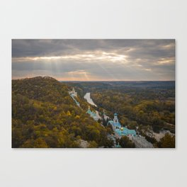 Holy Mountains Monastery (Ukraine) Canvas Print