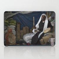 ali gulec iPad Cases featuring Abu Ali by Michael Bou-Nacklie