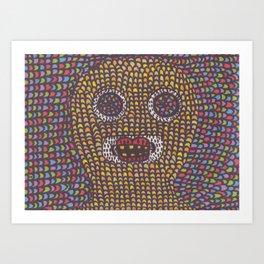 Acid. Art Print