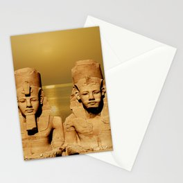 Ramesses and Nefertari Stationery Cards