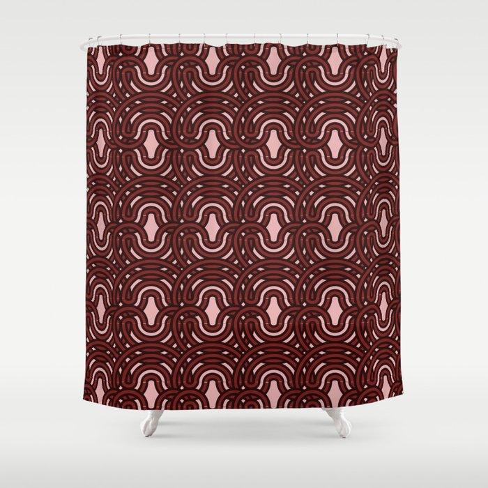 Op Art 192 Shower Curtain
