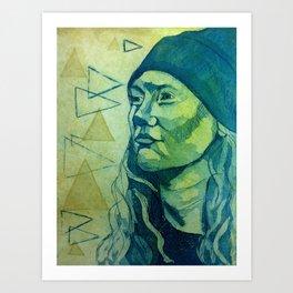 Hey, Claudia Art Print