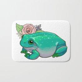 Succulent Frog Bath Mat