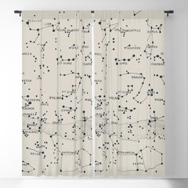 Carte du Ciel II Blackout Curtain