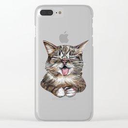 Cat *Lil Bub* Clear iPhone Case