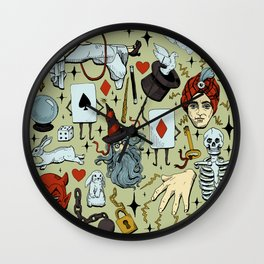 Antique Magic Starter Pack Color Wall Clock