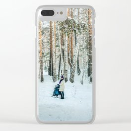 Snow white story Clear iPhone Case