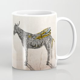 Feather Horse  Coffee Mug