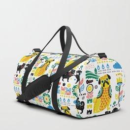 Scandinavian Pugs Duffle Bag