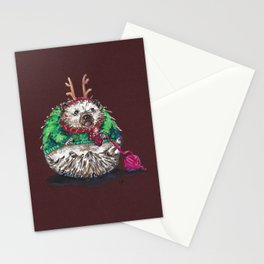 Holiday Sweater Crochet Critter Stationery Cards