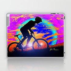Mountain Bike Sunrise Laptop & iPad Skin