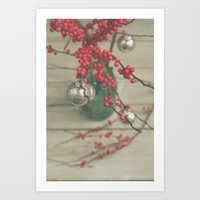 holiday Art Prints featuring Holiday by Olivia Joy StClaire
