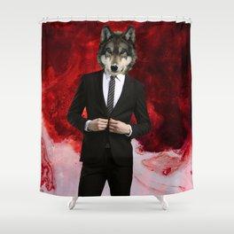 WOLF of WALLSTREET Shower Curtain