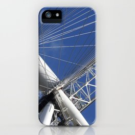 Blue Sky And The London Eye. iPhone Case