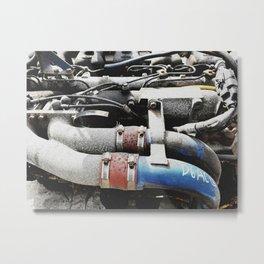 The engine revives again Metal Print