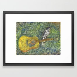 L'Épervier Framed Art Print